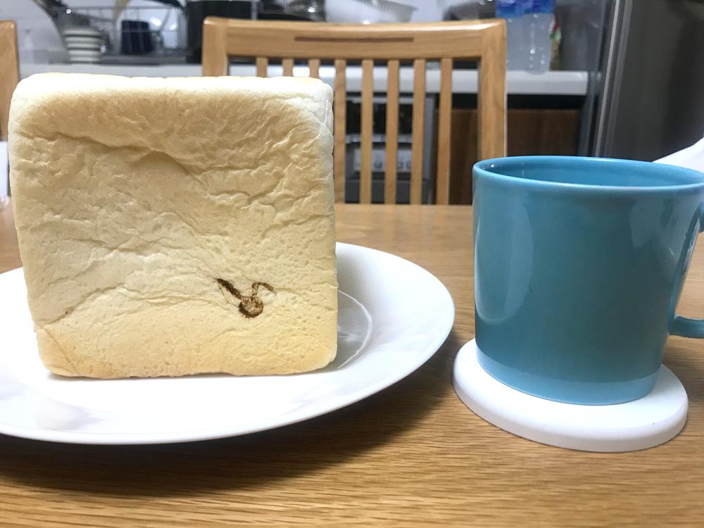 クリーミー生食パンSのサイズはこれくらい