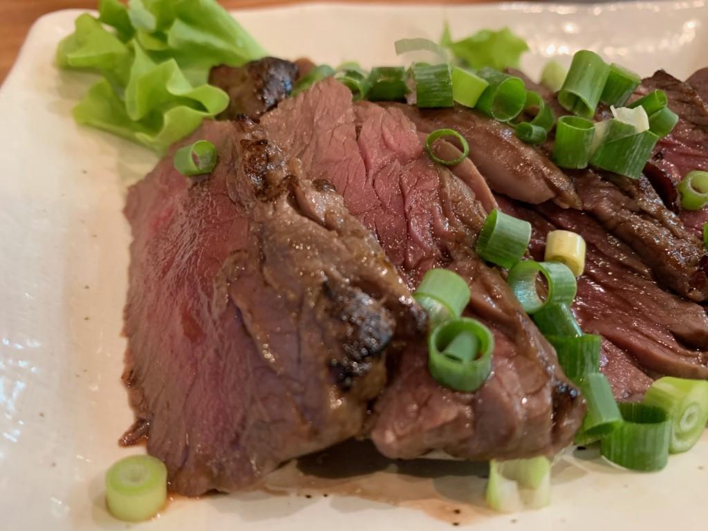 そしてこれサガリのステーキ