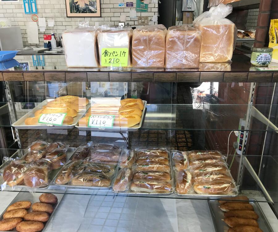 100円台のパンが多い!